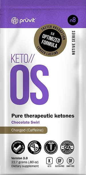 Chocolate Swirl Keto os Packet