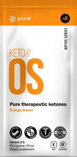 Orange Keto os Packet