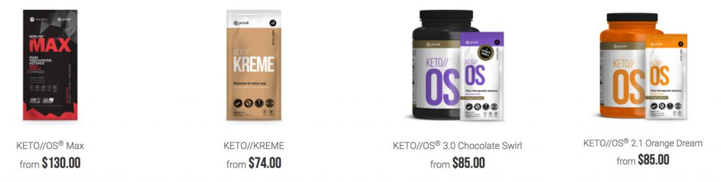 keto promoter packs