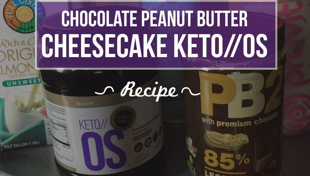Chocolate Peanut Butter Cheesecake Keto Recipe