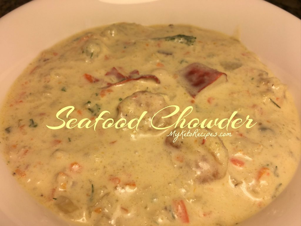 Seafood Chowder With Dill