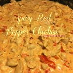 Spicy Red Pepper Chicken