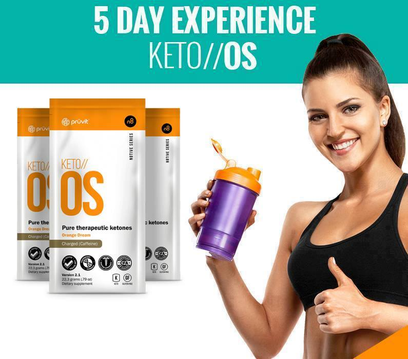 Keto 5 day experience pack
