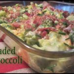 Low Carb Keto Friendly Loaded Broccoli