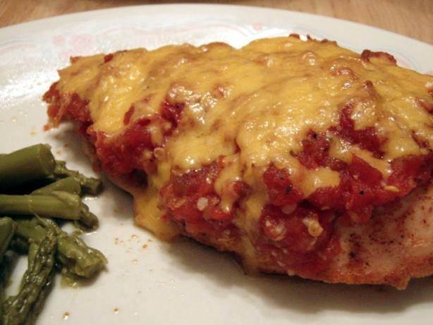 Low Carb Mexican Baked Chicken