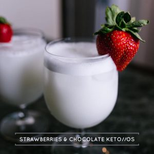 Strawberries Chocolate Swirl Keto