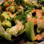 Shrimp Salad with Avocado and Cilantro