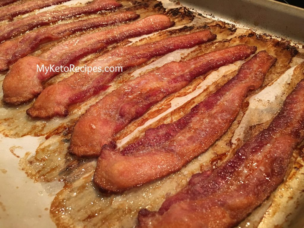 Bacon Oven Cooked