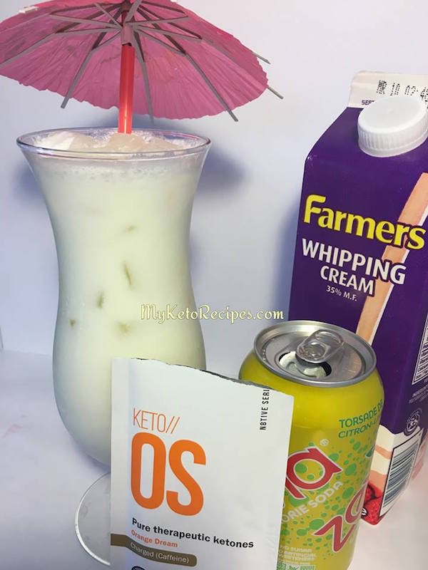 Keto os Orange Dream Recipe