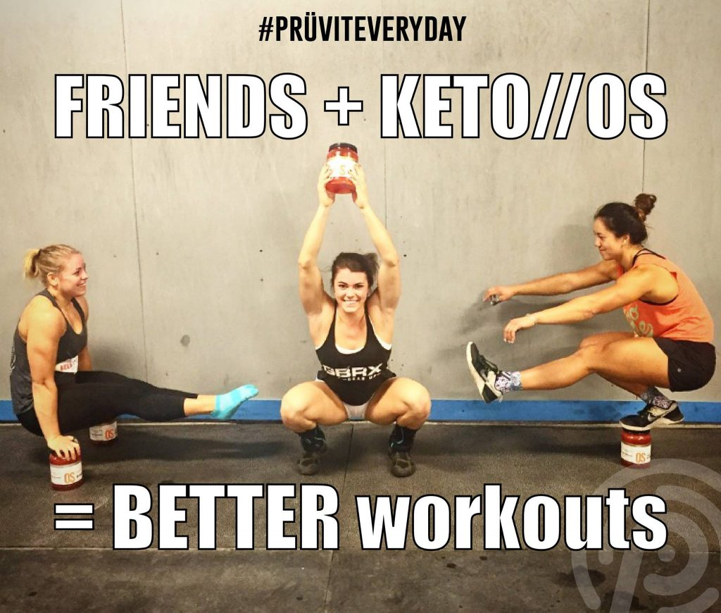 Keto OS Workout Athletes