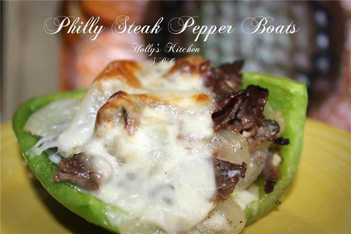 Philly Steak Pepper Boats