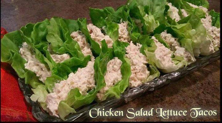 Chicken Salad Lettuce Tacos