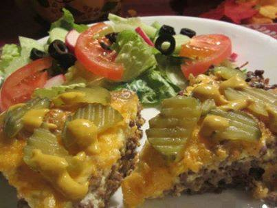 Cheeseburger Bake