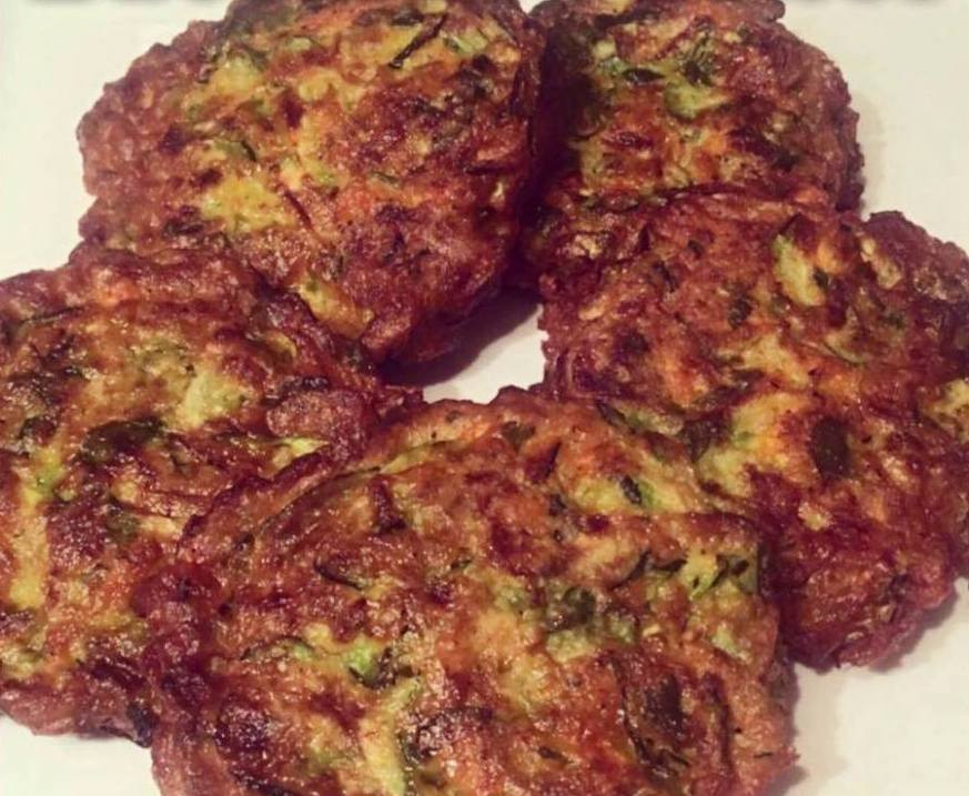 Keto Zucchini Patties Low Carb